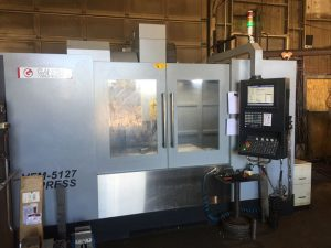 Ganesh VFM-5127 Express CNC 4th Axis Mill